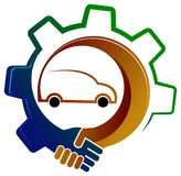 Vehicle association. Isolated illustrated vehicle association concept design Royalty Free Stock Photography