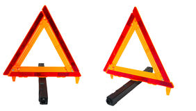 Vehicle Car Truck Road Safety HazardTriangle Stock Photo