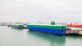 Vehicle Carriers Porgy and Crystal Ray Stock Photography