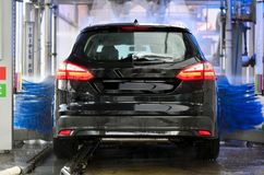 Vehicle Cleaning car wash stock photo