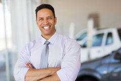Vehicle dealership principal Stock Images
