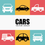 Vehicle design Royalty Free Stock Images