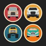 Vehicle design. Royalty Free Stock Photo