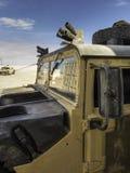 Vehicle designed for war (Humvee) II. All-terrain vehicle designed for war (Humvee stock image