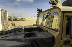 Vehicle designed for war (Humvee) III Stock Images