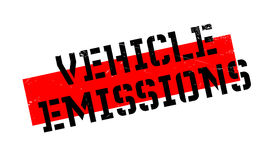 Vehicle Emissions rubber stamp Royalty Free Stock Photos