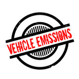 Vehicle Emissions rubber stamp Royalty Free Stock Photography