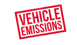 Vehicle Emissions rubber stamp Royalty Free Stock Photo