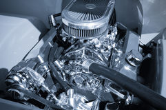 Vehicle engine Royalty Free Stock Image
