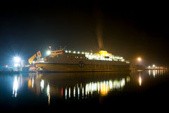 Vehicle ferry stock images