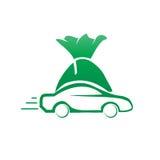 Vehicle finance illustration Royalty Free Stock Photo