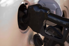 Vehicle fueling Royalty Free Stock Images