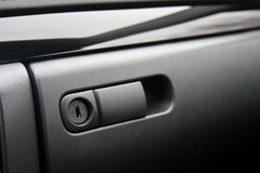 Vehicle glove compartment Stock Photos