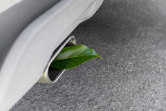 Vehicle Greenhouse Gas Emissions Royalty Free Stock Image