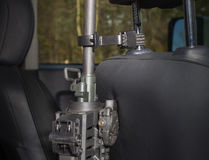 Vehicle gun holder Stock Photography
