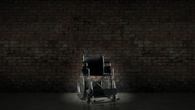 Vehicle for handicapped , wheelchair Stock Photography