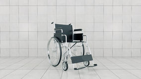 Vehicle for handicapped , wheelchair Stock Images