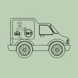 Vehicle icon design. Illustration eps10 graphic Stock Photo