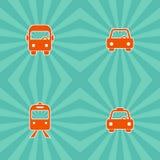 Vehicle icon Royalty Free Stock Photo