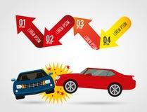 Vehicle infographic Stock Photo