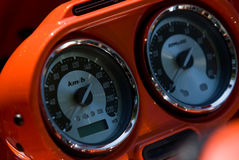 Vehicle instrument panel Stock Photography