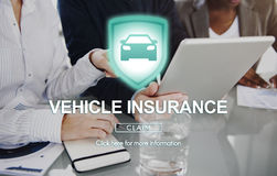Vehicle Insurance Accident Damage Protection Concept Royalty Free Stock Images