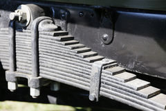 Vehicle leaf spring Stock Photography