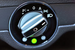 Vehicle lights control Stock Images
