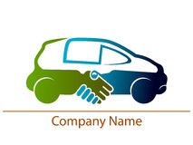 Vehicle logo Stock Photo