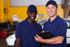 Vehicle manager worker Royalty Free Stock Photos