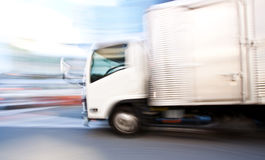 Vehicle in motion blur Stock Photo