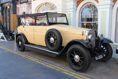 Vehicle from The Mummy 1999. Los Angeles, California, USA - March 12, 2015: The 1931 Duesenberg Model J, the actual picture car from The Mummy 1999, is displayed Stock Photo