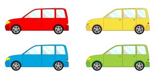 Vehicle pack  - liftback, combi Royalty Free Stock Photography