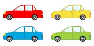 Vehicle pack - sedan Royalty Free Stock Photography