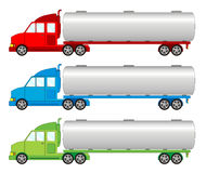 Vehicle pack - tank, cistern car. Vehicle pack different color - tank, cistern car royalty free illustration