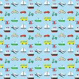 Vehicle pattern Stock Photography