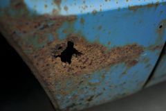 Vehicle Rust Stock Photo
