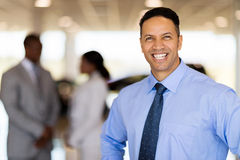 Vehicle sales consultant Royalty Free Stock Photo
