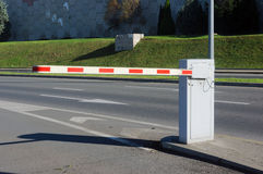 Vehicle security barrier Stock Photos