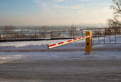 Vehicle security barrier Royalty Free Stock Photo