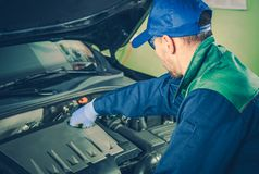 Vehicle Service Maintenance Royalty Free Stock Images