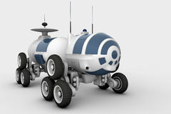 Vehicle - the space rover, a mobile laboratory Royalty Free Stock Photos