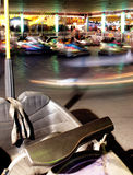 A Vehicle Stands Unused in Bumper Cars at the Fair Royalty Free Stock Photography