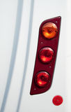 Vehicle tail lights Royalty Free Stock Photography