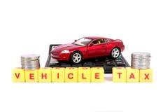 Vehicle tax Royalty Free Stock Photo
