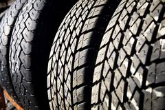 Vehicle Tires Stock Photography