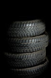 Vehicle tyre Stock Photography