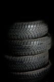 Vehicle tyre Stock Photography