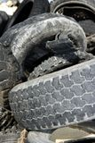 Vehicle tyres recycle ecological factory Royalty Free Stock Photography
