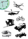 Vehicle vector Stock Images